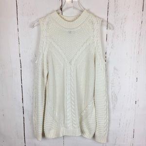 H&M | Cold Shoulder Sweater